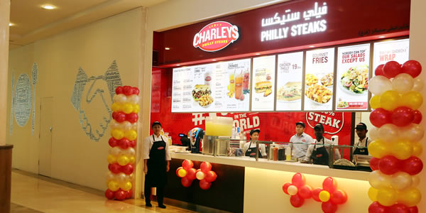 Al Madani Group LLC » Charley's Philly Steaks
